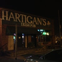 Photo taken at Hartigan's Irish Pub by Lesley on 11/4/2012