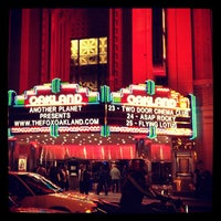 Photo taken at Fox Theater by Annie L. on 10/24/2012