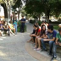 Photo taken at Plaza de Armas Alhué by Carlos R. on 1/22/2013