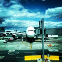 Photo taken at Auckland Airport (AKL) International Terminal by Tee God Father on 2/8/2013