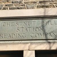 Photo taken at SEPTA Chestnut Hill East Station by WEA Jr. on 2/28/2016