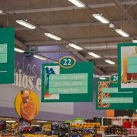 Photo taken at Superluna Supermercados by Marco V. on 9/15/2012
