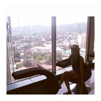 Photo taken at Crown Regency Hotel by Bhea C. on 10/2/2014
