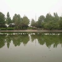 Photo taken at Laguna Parque de Los Reyes by Urso O. on 1/19/2013