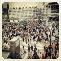 Photo taken at Shibuya Station by Stan K. on 3/9/2013