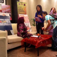 Photo taken at Kementerian Pembangunan Wanita, Keluarga dan Masyarakat (KPWKM) by Mohamad Ali T. on 3/8/2014