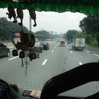 Photo taken at South Luzon Expressway (SLEx) by Mary Trisha A. on 9/1/2013