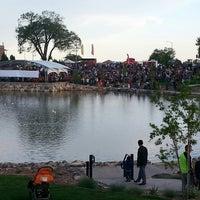 Photo taken at Ashley Pond by J W. on 6/14/2014