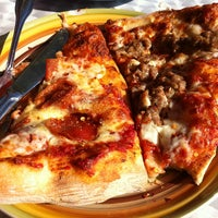 Photo taken at Serrano's Pizza by Mark E. on 3/16/2013
