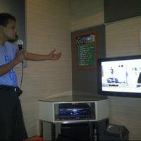 Photo taken at NAV Karaoke Keluarga by Mulyono B. on 10/21/2012