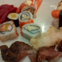 Photo taken at YakiMix Sushi & Smokeless Grill by Bryan A. on 3/18/2013