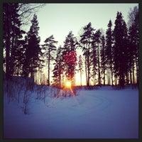 Photo taken at Pyymosantie by Noora S. on 2/24/2013