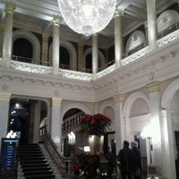 Photo taken at The Grosvenor Hotel by Hillevi on 12/15/2012