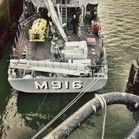 Photo taken at Marinebasis by Jorn U. on 11/20/2012