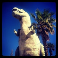 Photo taken at Cabazon Dinosaurs by Patrick A. on 3/29/2013