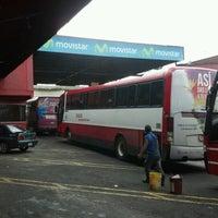 Photo taken at Terminal De Buses TUASA (Alajuela) by Eduardo G. on 11/26/2012