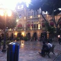 Photo taken at Los Portales de Puebla by Andy on 7/15/2013
