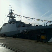 Photo taken at HM Naval Base by Dartha D. on 11/30/2012