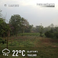 Photo taken at Lampang Vineyard by Jesada K. on 5/3/2013