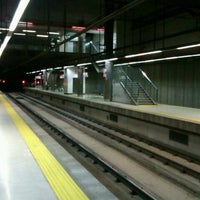 Photo taken at Estació - Tren / Metro - Jacint Verdaguer by Juan Francisco L. on 12/20/2012