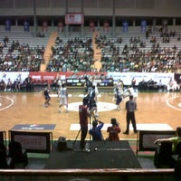 Photo taken at Sritex Arena by Intania M. on 3/9/2013