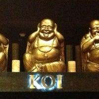 Photo taken at Koi Restaurant by wenny l. on 2/17/2013