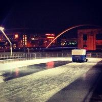 Photo taken at Brenton Skating Plaza by Lance B. on 2/18/2013