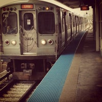 Photo taken at CTA - 35th/Archer by Andrea on 12/29/2012