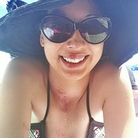 Photo taken at Agatam Beach by frenchylmonet on 7/26/2014