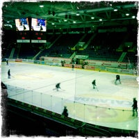 Photo taken at SWISS Arena by Fabian V. on 10/23/2012