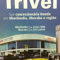 Photo taken at Trivel Triângulo Veículos Ltda by Andressa on 10/29/2012