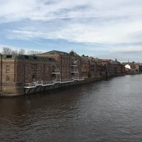 Photo taken at Skeldergate Bridge by Chris P. on 3/7/2015
