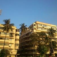 Photo taken at Marine Drive by Jayottam D. on 12/22/2012