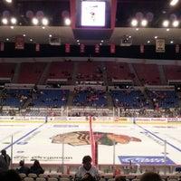 Photo taken at Veterans Memorial Coliseum by Joel W. on 10/28/2012