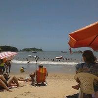 Photo taken at Praia Do Cemitério by Giovana P. on 1/5/2013