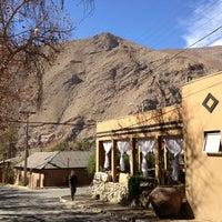 Photo taken at Pisco Elqui by Sebastian A. on 8/5/2013