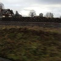 Photo taken at Bahnhof Rotkreuz by Vicky L. on 12/17/2012