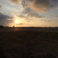 Photo taken at Bandara Tampa Padang (MJU) by Alvin J. on 11/21/2015