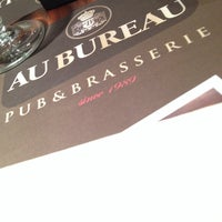 Photo taken at Au Bureau by Nathalie J. on 2/11/2014