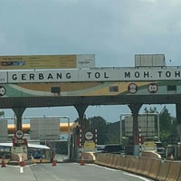 Photo taken at Gerbang Tol Moh. Toha by Mey Mey 陈. on 9/25/2016