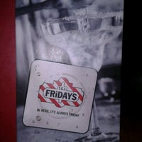 Photo taken at TGI Fridays by Suzanne B. on 9/22/2012