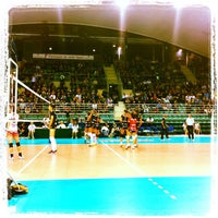 Photo taken at Palais des Sports by Le furet M. on 10/30/2012