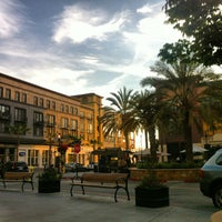 Photo taken at Santana Row by Olivier C. on 5/16/2013
