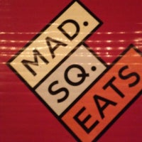 Photo taken at Mad. Sq. Eats by Luis N. on 10/9/2012