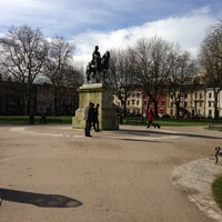 Photo taken at Queen Square by Colin M. on 2/8/2013