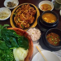 Photo taken at Myung San by Heather P. on 9/2/2015