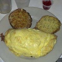Photo taken at Omelette Factory by Mike C. on 6/15/2013