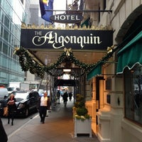 Photo taken at Algonquin Hotel, Autograph Collection by Cindy C. on 11/30/2012