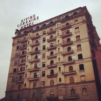 Photo taken at Divine Lorraine Hotel by Jamie G. on 2/16/2013