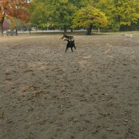 Photo taken at Broad Ripple Park Canine Companion Area by Cheryl M. on 10/22/2015